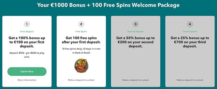 Bonuspakket Lucky Days