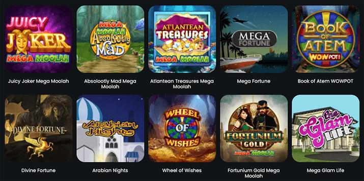 Populairste jackpot gokkasten